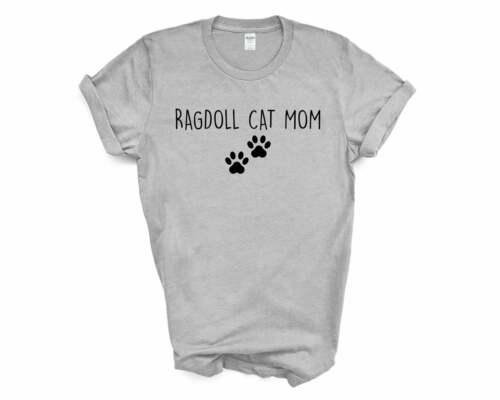 Ragdoll Cat Mom 2386 Ragdoll Cat Lover Gift shirt Womens Ragdoll Cat TShirt
