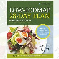 The Low-Fodmap 28-Day Plan :A Healthy Cookbook By Rockridge Press 9781623154202