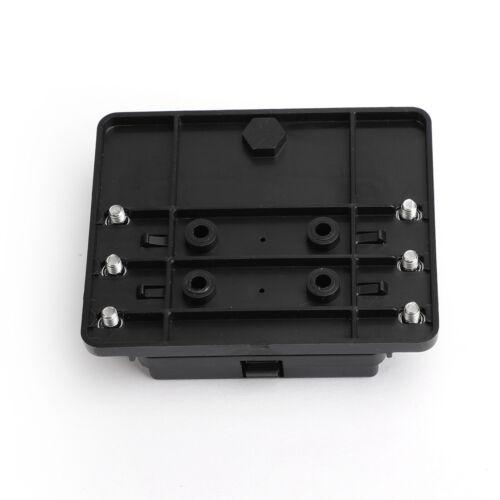 6 Weg Sicherungskasten Halter LED Indikator 32V Universal 100Amp Wasserdicht Neu