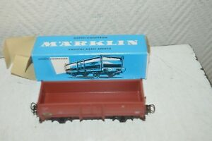 WAGON-TOMBERAU-MARKLIN-4602-NEUF-TRAIN-LOCO-CAR-WAGEN-DB