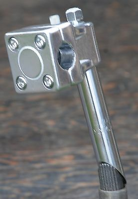 """Silver BMX Quill Stem for threaded 1/"""" 21.1mm shaft GT Mallet Style w// Potts Mod"""