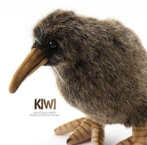 Miss Oh Stuffed Plush Soft Toy Hansa Realistic Kiwi Bird 20cm H