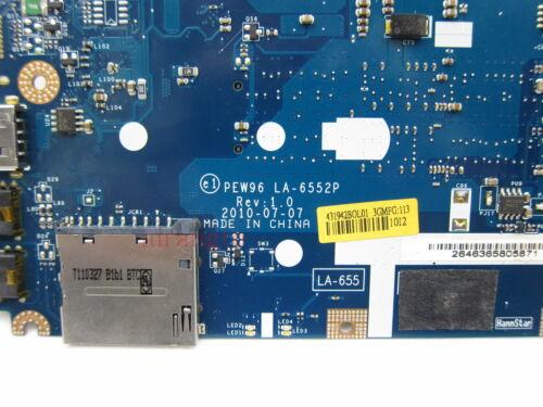 For Acer Aspire 5552 5552G AMD Motherboard PEW96 LA-6552P MB.R4602.001 Tested OK