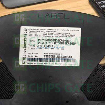 3PCS M29W800DB70N6E IC FLASH 8MBIT 70NS 48TSOP 29W800 M29W800