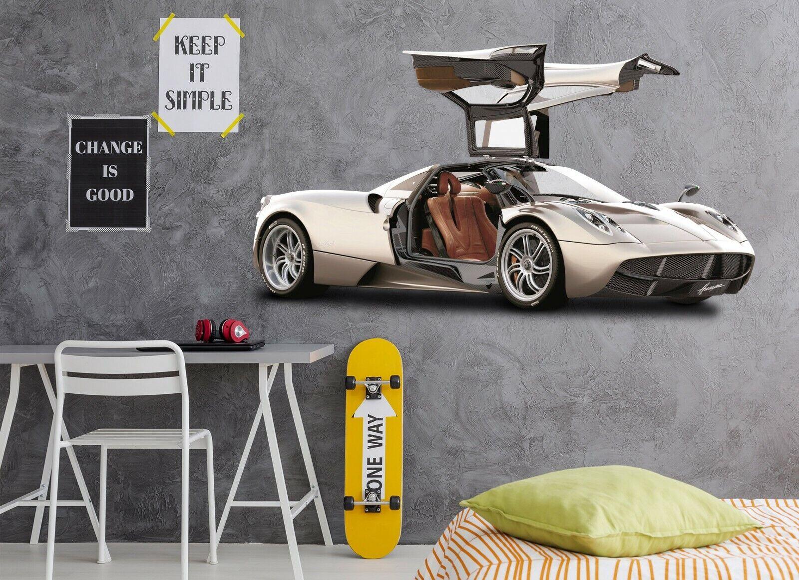 3D Luxury Ferrari A201 Car Wallpaper Mural Poster Transport Wall Stickers Zoe