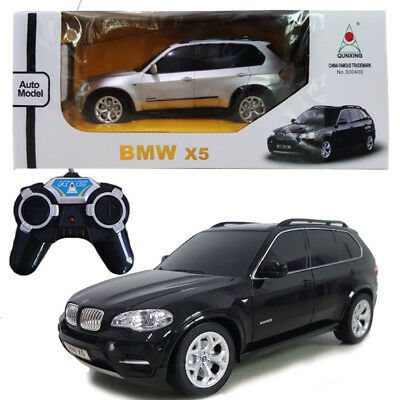Rc Model Vehicles & Kits Toys & Hobbies Kind-Hearted Licensed 1:24 Bmw X5 Electric Rc Radio Remote Control Vehicle Car Kids Toy Gift Easy To Lubricate