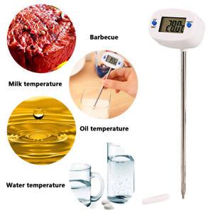 Steel-Plastic-LCD-Display-Digital-Probe-Cooking-Thermometer-Food-Temperature-PL