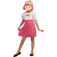 NEW RUBIES STRAWBERRY SHORTCAKE PLAY PRETEND GIRLS DRESS COSTUME MEDIUM 8 -10