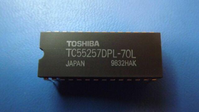 PDIP-28 1x  TOSHIBA TC55257DPL70L TC55257DPL-70L Static RAM 32Kx8