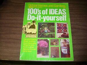 BETTER HOMES AND GARDENS HUNDREDS OF IDEAS DIY MAGAZINE ...