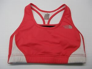 THE-NORTH-FACE-Sports-Bra-Womens-Size-S-Flight-Series-Pink-Compression-Racerback