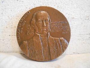 Grande Medaille Bronze Claude Bernard Medecine Experimentale 1865 Mocquot 1978 Voulez-Vous Acheter Des Produits Autochtones Chinois?