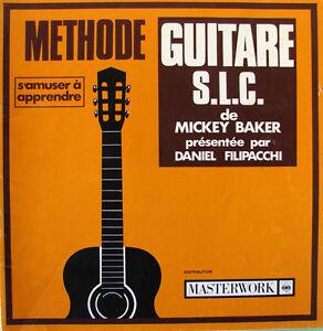 METHODE-DE-GUITARE-S-L-C-034-S-039-AMUSER-A-APPRENDRE-034-PAR-MICKEY-BAKER