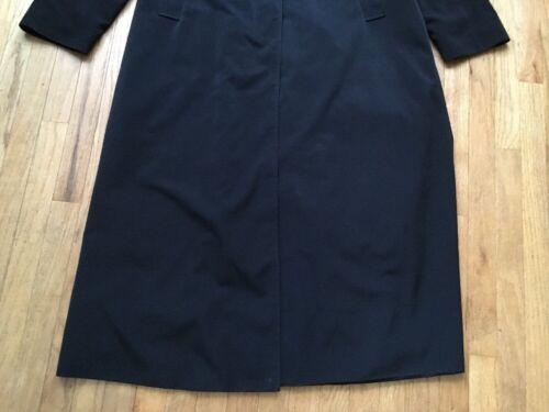 Jacket Winter Coat Fog 9784017482929 Trench Black Women's London 10 Long Størrelse HwPf8qz