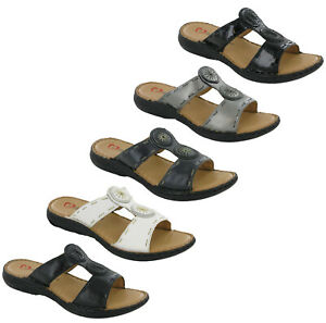Heavenly-Feet-Gina-Ladies-Sandals-Slip-On-Cushioned-Comfort-Open-Toe-Shoes-UK4-8