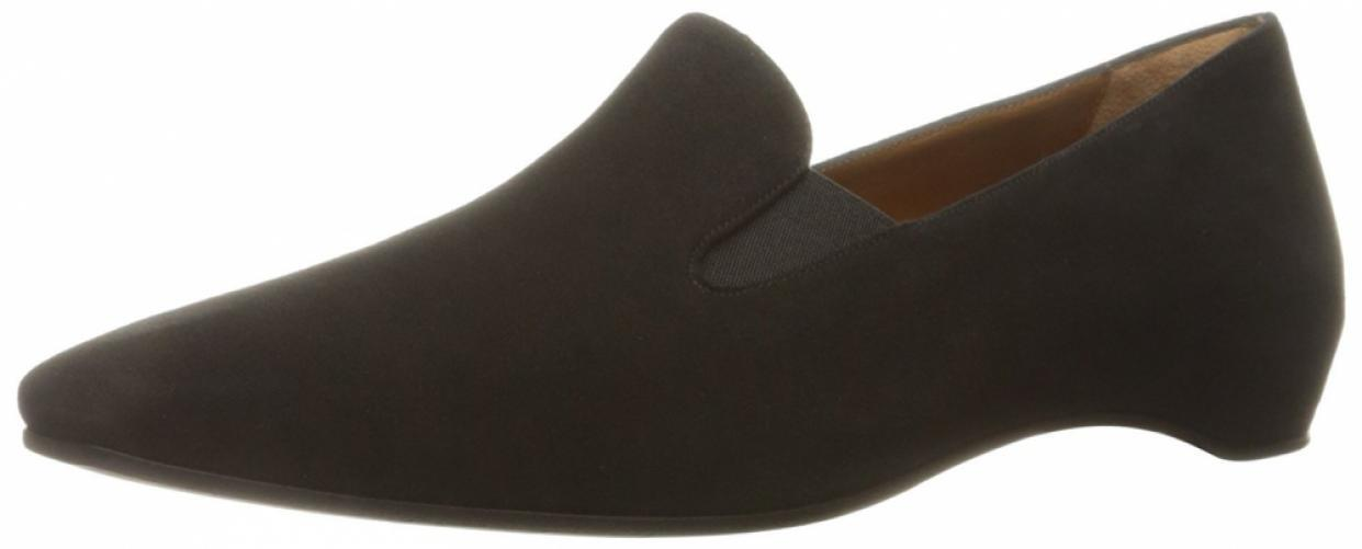 Aquatalia Women's Marianne Suede Slip-on Loafer