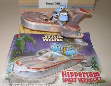 Maxi Ei / Happy Hippo Star Wars / Hipperium Landspeeder mit Beipackzettel