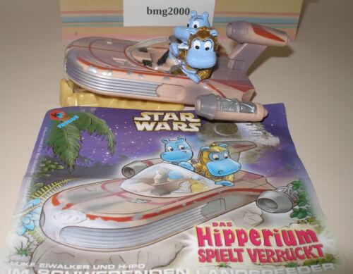 Maxi Ei Happy Hippo Star Wars Hipperium Landspeeder mit Beipackzettel