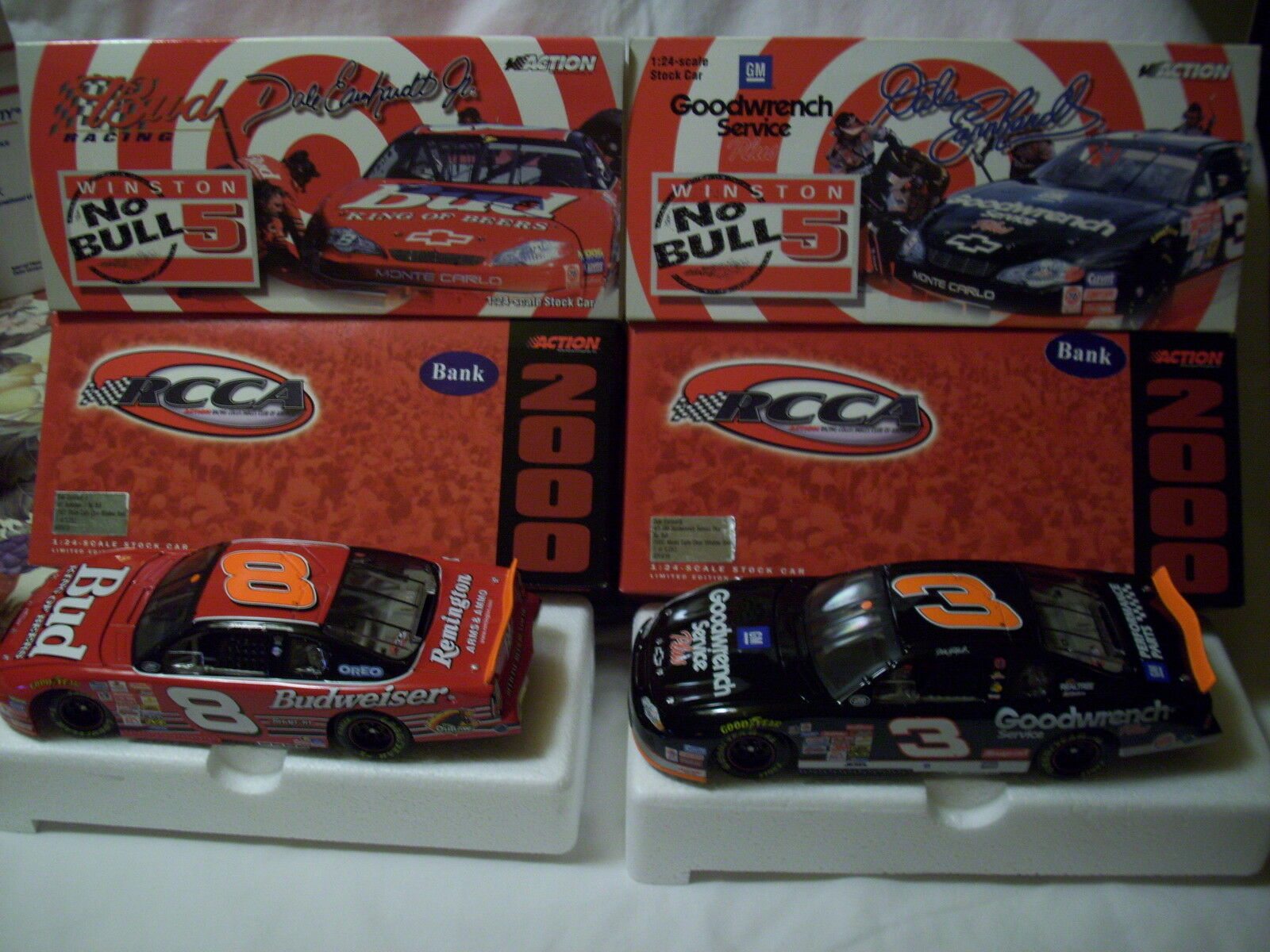 2000 2-CAR SET 1 5,052 DALE EARNHARDT DALE JR 1 24 NO BULL RICHMOND ACTION RCCA