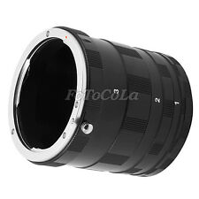 Macro Extension Tube Ring For Canon EOS 1Ds 5D II III 30D 40D 50D 60D 70D 1200D