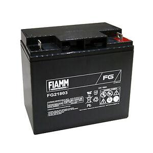 Fiamm-FG21803-Batteria-AGM-ermetica-al-piombo-12V-18Ah-FG-21803