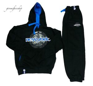 New-york-Hombre-Chandales-G-BAR-Rock-Star-Nyc-Informal-Jogging-Set-Hip-Hop