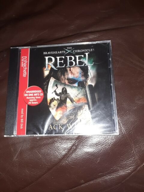 Jack Whyte REBEL Bravehearts Chronicles MP3 CD Audio 20 hours NEW AND SEALED
