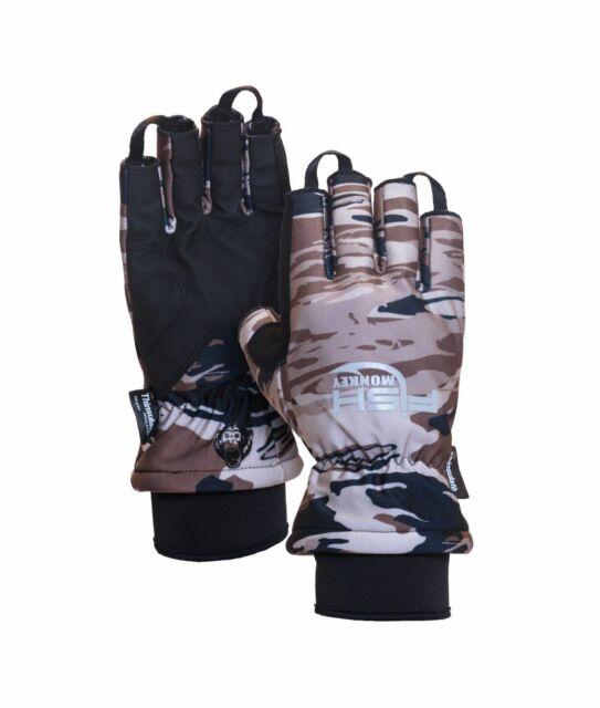 Mossy Oak 3 Legends Camoflauge Insulated Waterproof Fishing Gloves