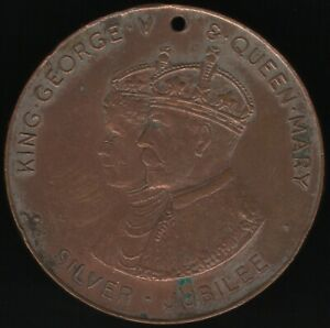 1935-George-V-amp-Queen-Mary-Medal-039-City-Of-Birmingham-039-Pennies2Pounds