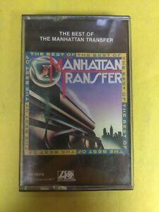 THE-MANHATTAN-TRANSFER-The-Best-of-Manhattan-Transfer-CS19319-Cassette-Tape