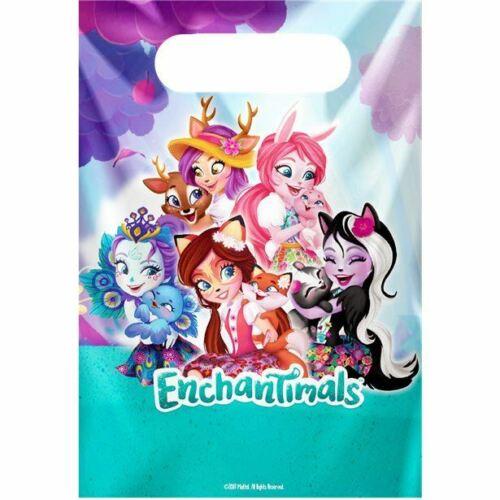 Mattel Enchantimals 8 x Party bags Loot bags