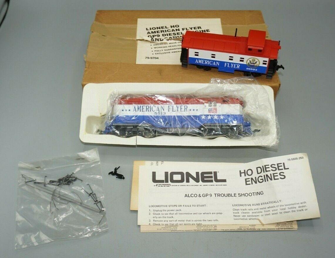 descuento Lionel Ho 79-9704 American Flyer & Furgón De Cola Cola Cola Motor Diesel GP-9 en Caja Original  Envío rápido y el mejor servicio