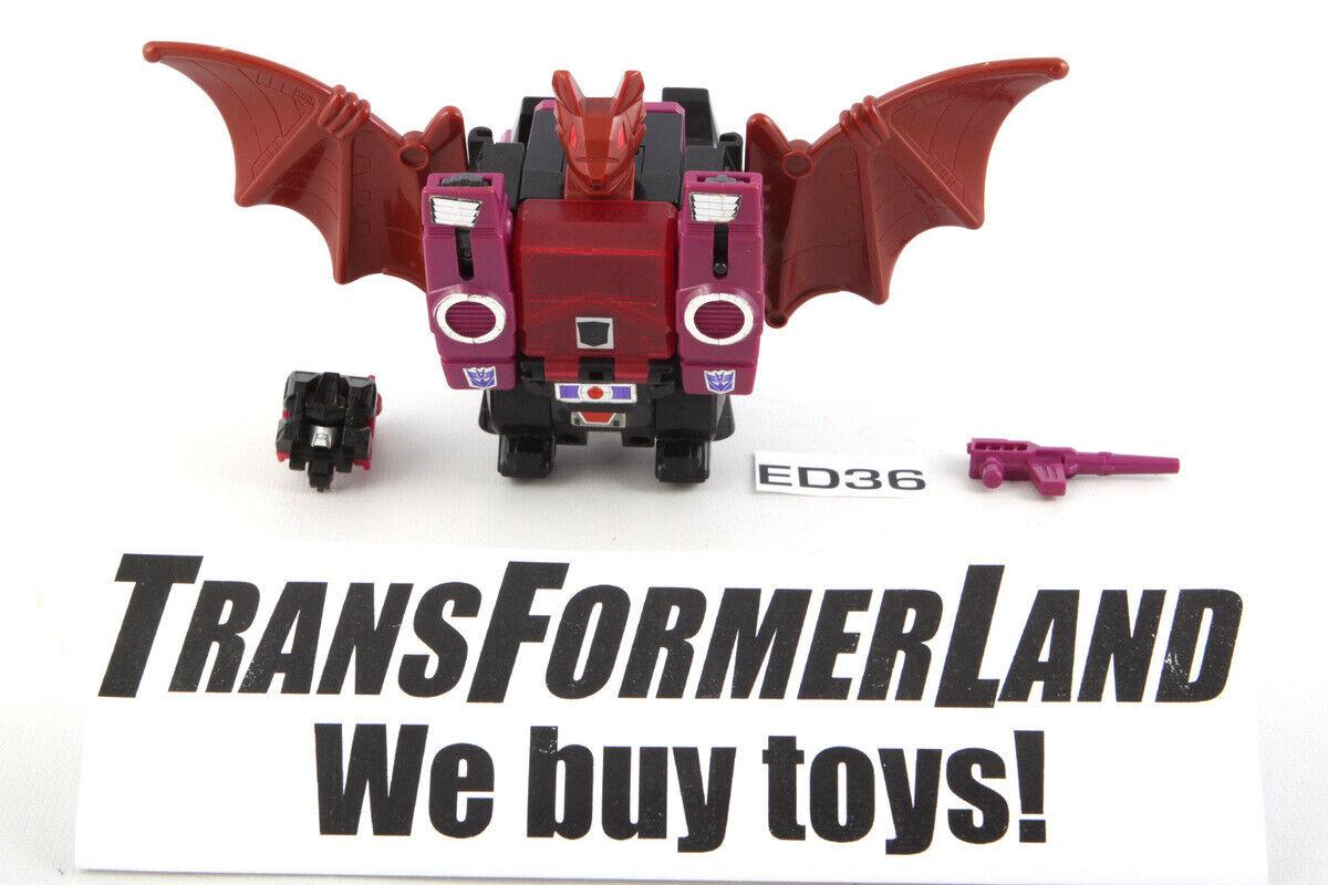 Mindwipe 100% Komplett Headmasters 1987 Vintage Hasbro G1 Transformers