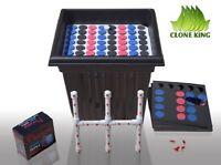 The Clone King 64 Site Aeroponic Plant Cloning Machine Ez 2 Clone Cloner Cloning