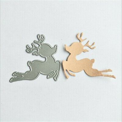 Stanzschablone Elch Vater Weihnachten Neujahr Hochzeit Oster Karte Album Deko