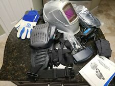 New Listingmiller Papr Titanium 9400 Welding System Helmet With Powered Air