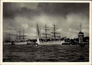 Schiffsfoto-AK-1940-Schiff-Schiffe-Segelschiff-Segelschffe-Photo-Verlag-Andres