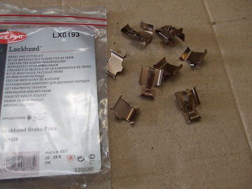 HONDA CRX CIVIC Anteriore Pastiglie Dei Freni a Disco Kit di montaggio lx0193