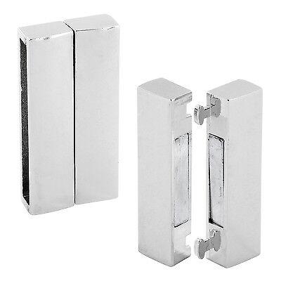 Flacher rechteckiger Magnet-Verschluss Loch: 34x4mm aus Zinklegierung