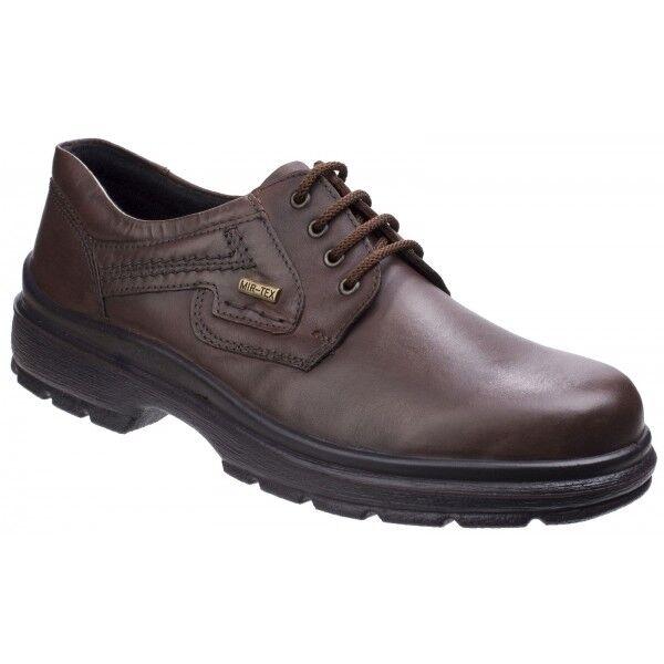 Cotswold Shipston dentelle de chaussures homme en cuir imperméable Décontracté Chaussures de bureau marron