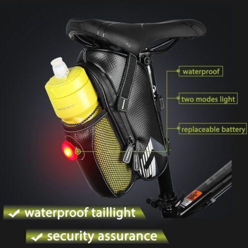 Roswheel Bike Seat Saddle Bag Waterproof Roomy Strap-on Bicycle Seat Bag Pack