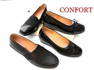 separation shoes 5edb8 0a678 Dettagli su MOCASSINI DONNA SCARPE CONFORT 36 37 38 39 40 41  *I*N*G*R*O*S*S*O* *