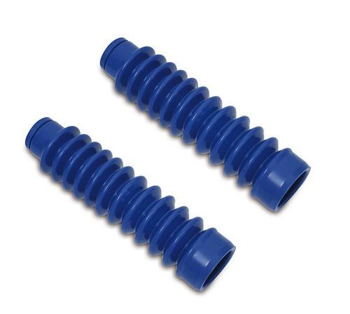 SR80 S70 S53 SR50 2 x Faltenbalg blau für Vordergabel pass Simson S50 S51