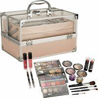 24 Piece Cosmetic Makeup Kit Set Teens Teen Starter Storage Case All In One
