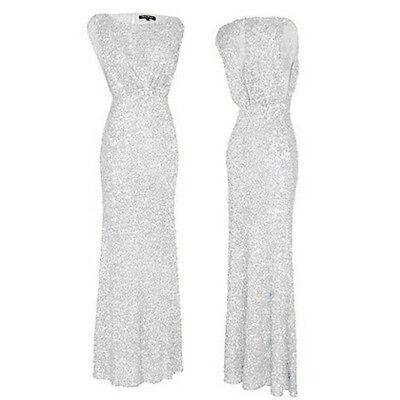 2016 Lang Brautjungfer Kleid der Party Abendkleider Ballkleider Gr:34-44