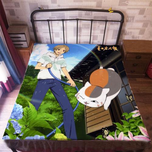 Neu Natsume Yuujinchou Anime Tagesdecke Sheet Bettwäsche Quilt Cover 150x200CM