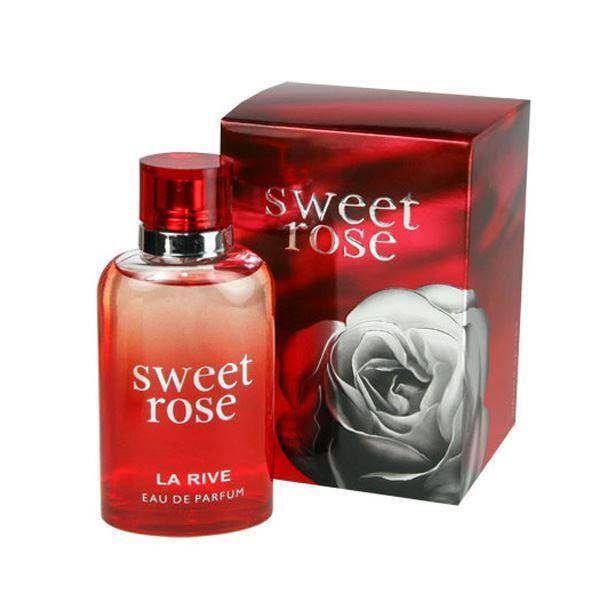 La Rive Sweet Rose For Women Perfume EDT 90ml 3.0oz Brand New