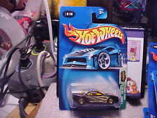 2003 Hot Wheels Treasure Hunt #10 Muscle Tone 2004 Card with Real Rider Tires