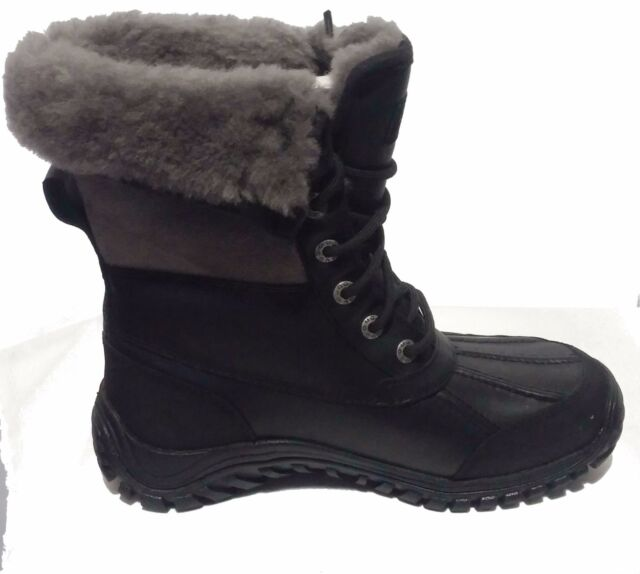 f16bd3c6fae UGG Australia Women's Adirondack Boot II Snow BOOTS 5 M Black/grey