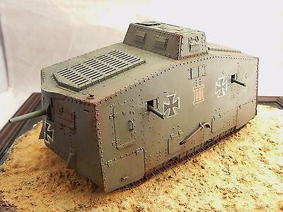 1/35 Built German WW1 Krupp A7V Tank